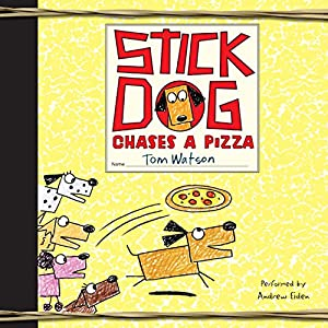 Stick Dog Chases a Pizza Audiobook