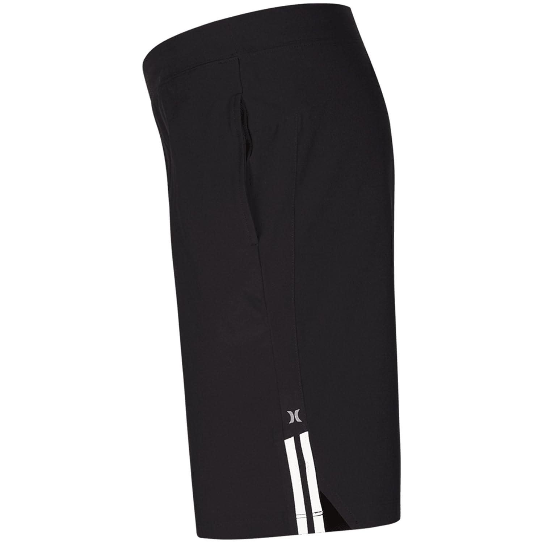 Hurley Mens Elastic Waist 20 inch Alpha Trainer Short