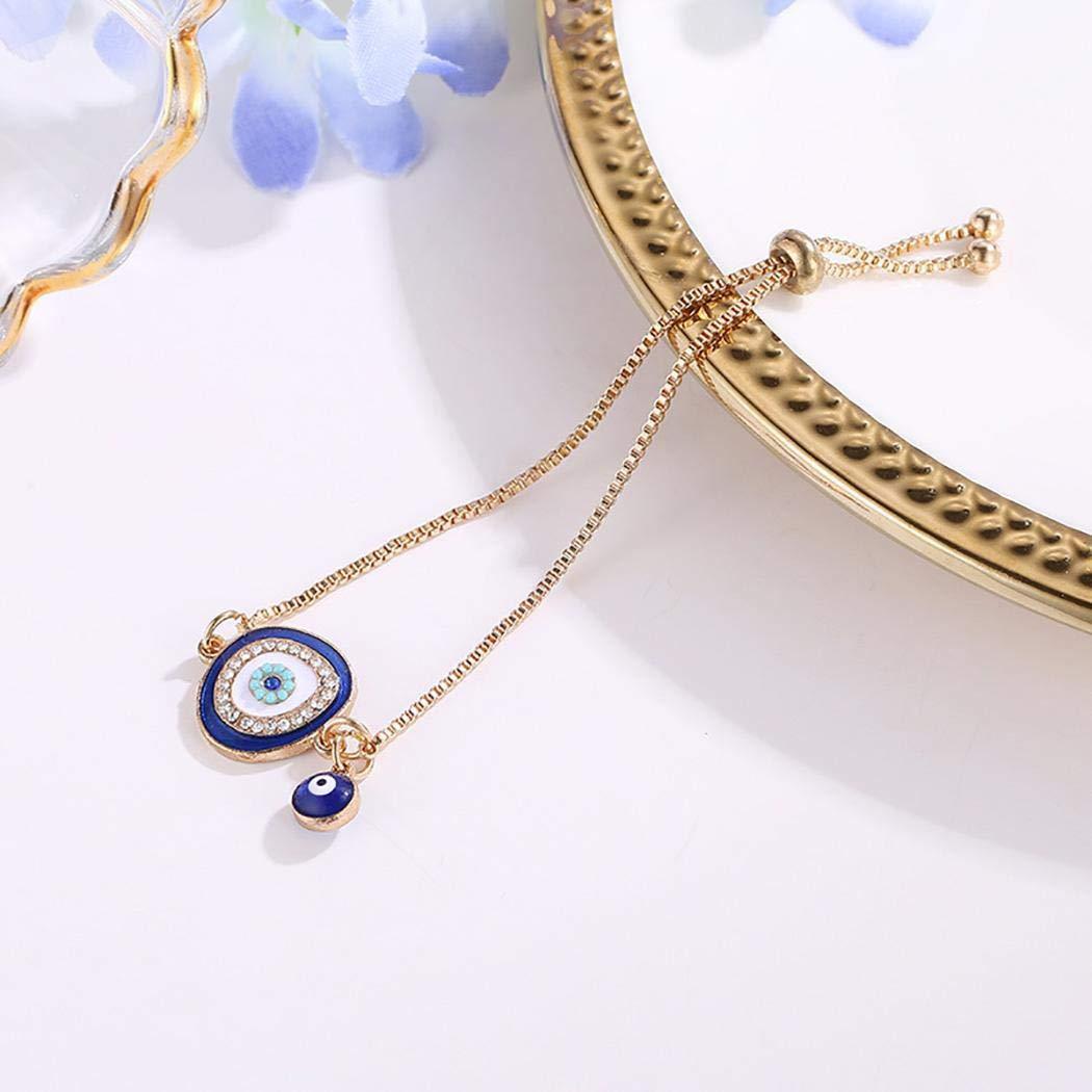 Sikena Regalo de la pulsera de la forma redonda del diamante artificial de la joyería de la moda de las mujeres Pulseras