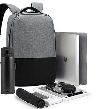 Bolsas de ordenador para portátiles Mochila Portátil 2018 Nuevo Contraste Antirrobo Mochila de viaje Negocio de