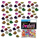 Confetti Fish: Angel Fish MultiColor Mix - 8 Half Oz Pouches (4 oz) FREE SHIPPING --- (CCP8152)