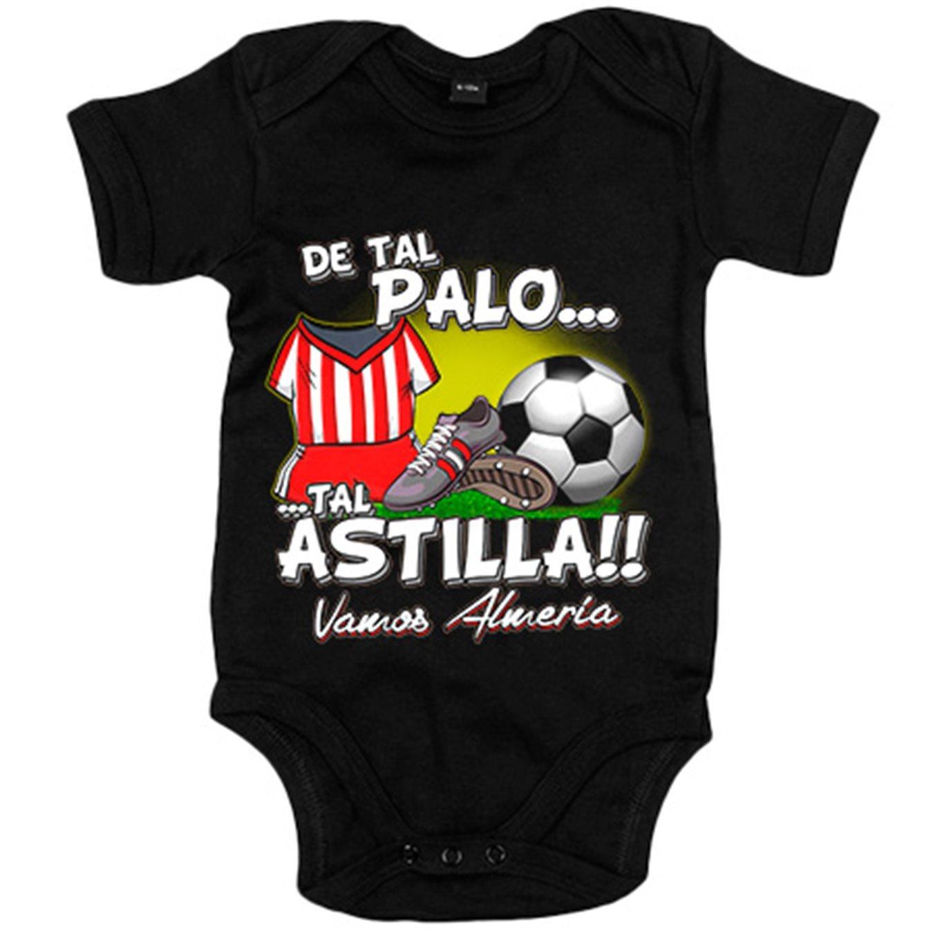 Body bebé De tal palo tal astilla Almería fútbol - Blanco, 6-12 meses: Amazon.es: Bebé