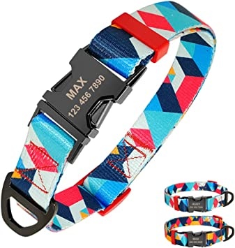 collier pour chien motif