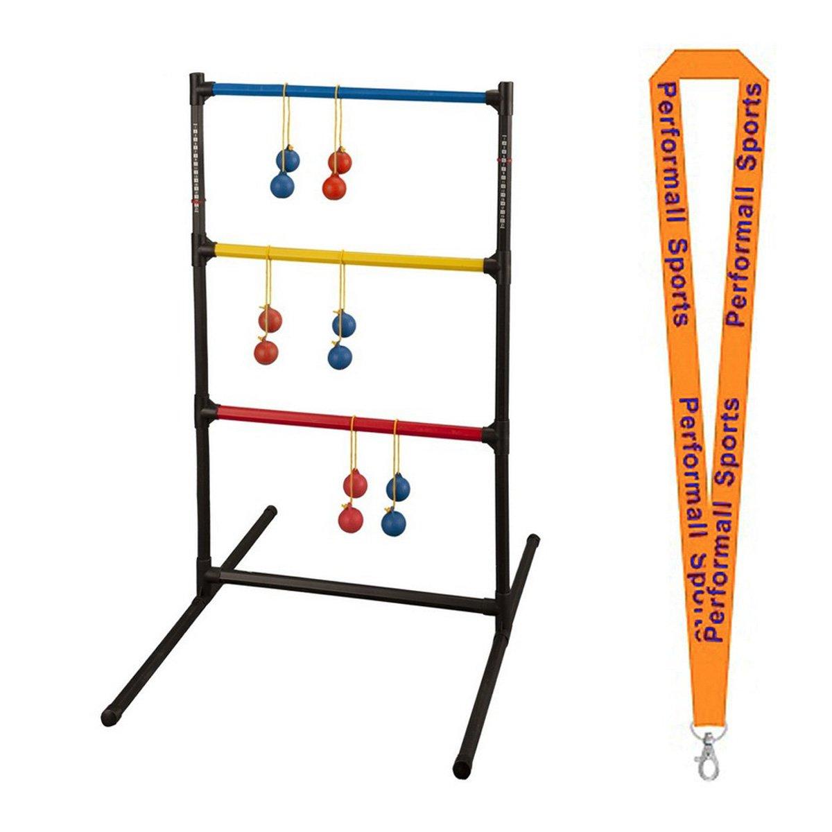 Champion Sports Ladder Ball Golf Game Set Assorted Bundle