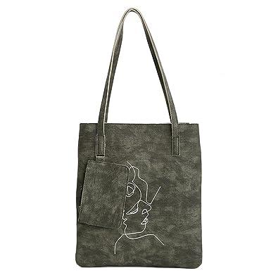 eed9445160 Amazon.com  PU Leather Shopping single shoulder bag large capacity fur ball  handbag shopping bag female bag (not hanging tag)  Shoes