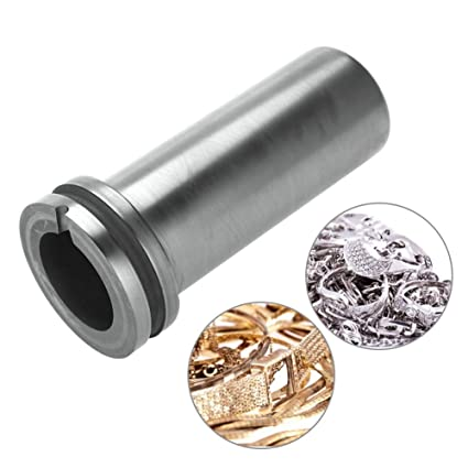 1kg//2kg//3kg High Purity Graphite Crucible Metal Melting Gold Silver Scrap Furnace Casting Mould Melt Jewelry Tools Graphite Casting Melting Ingot Mold for Gold Silver Metal 1kg