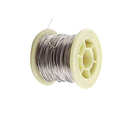 aexit 50ft 0 7mm water heater parts awg21 gauge nichrome resistor wire for  heating elements frigidaire heater - - amazon com