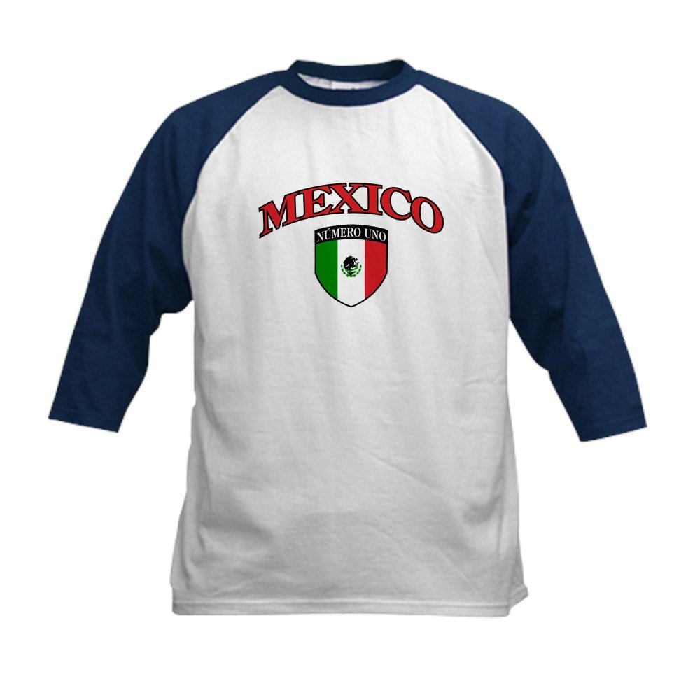 65791db22 Amazon.com: Royal Lion Kids Baseball Jersey Mexico Numero Uno Mexican Flag:  Clothing