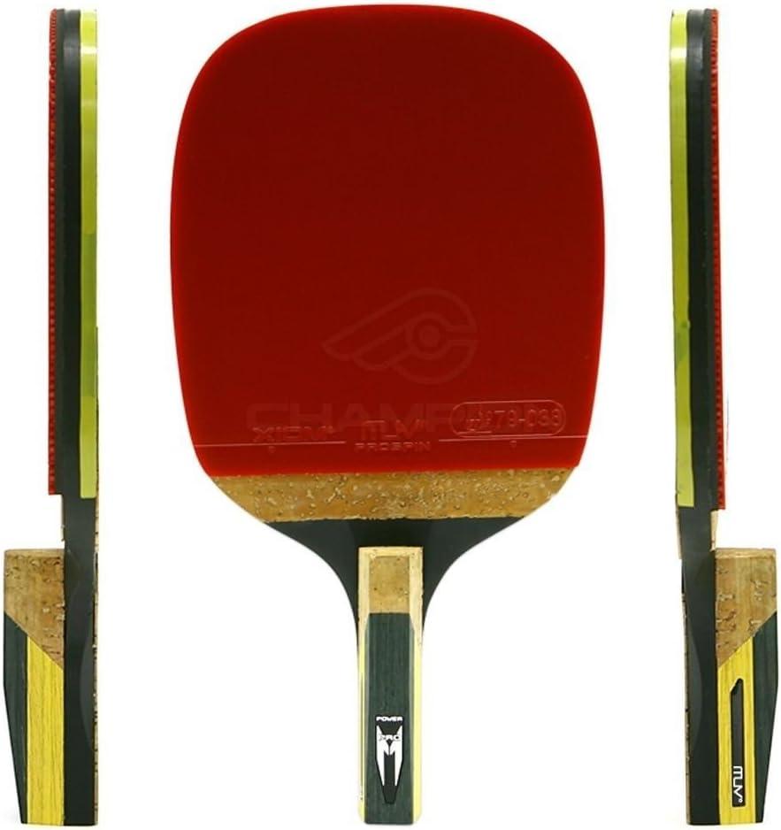 Champion M 6.0p tenis de mesa raqueta de hojas iPad air Offensive ping pong Paddles