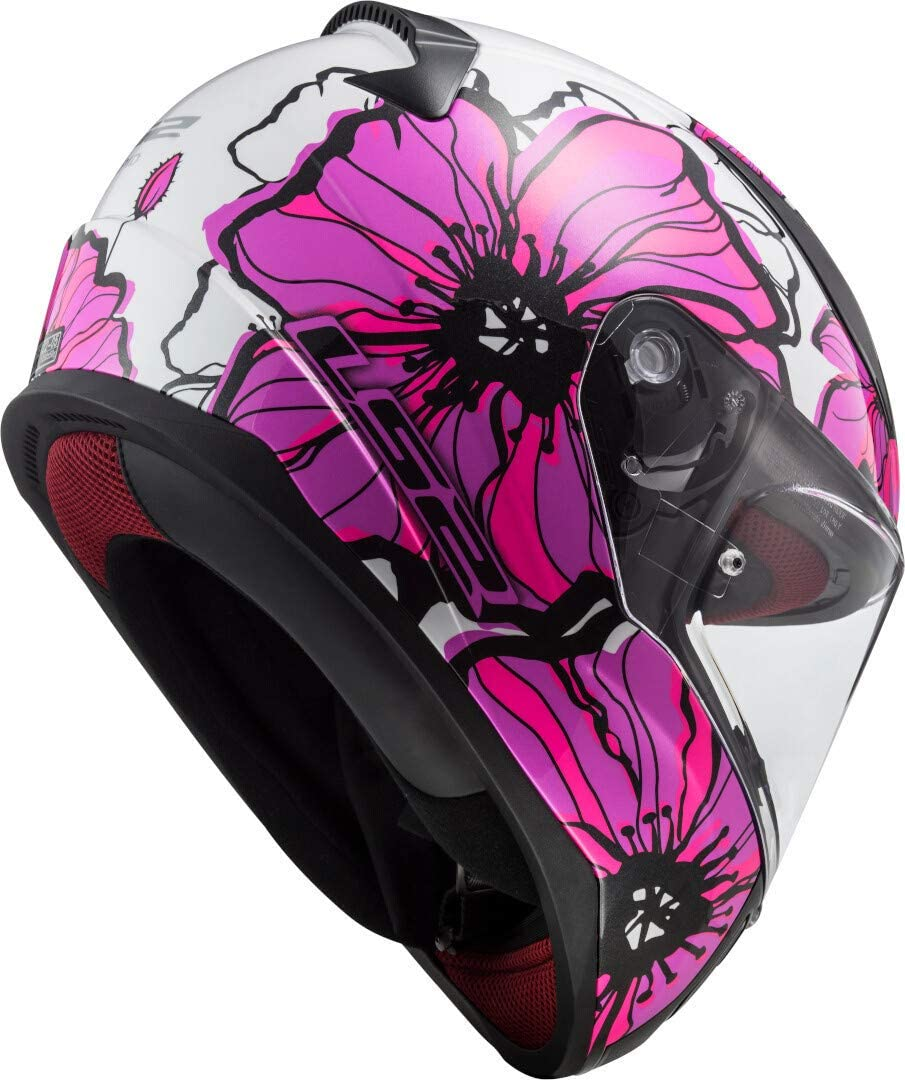 Noir//Violet LS2 Casque moto FF390 BREAKER BETA MATT PURPLE XS