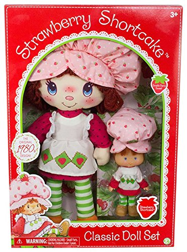 Strawberry Shortcake Classic Dolls Gift Set