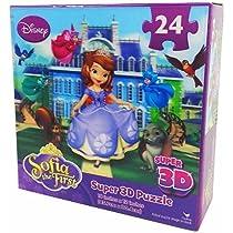 Disney Sofia the First Super 3D Puzzle - 24 Piece