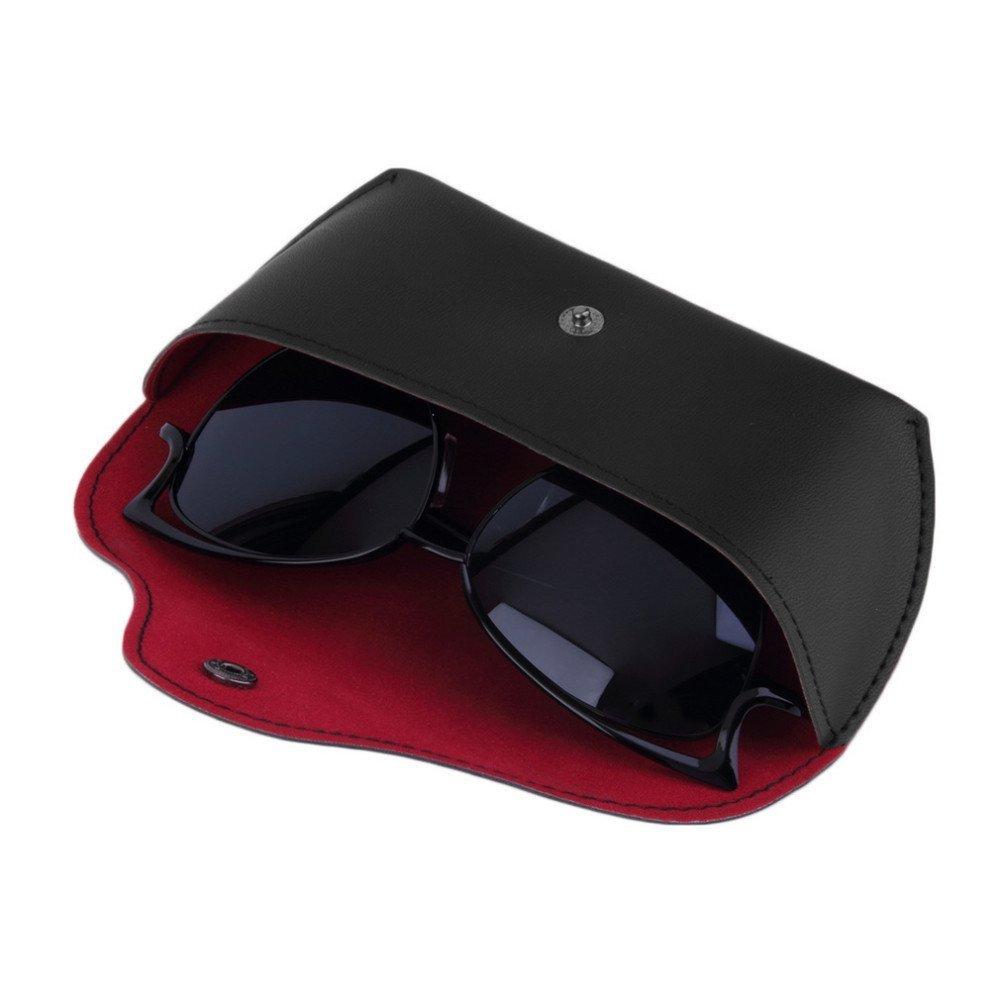 ECYC Professional PU Leather Vintage Sunglasses/&Eyeglasses Storage Case