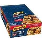 PowerBar Protein Snack Bar, Peanut Butter Caramel, 50 Gram, 1.76 Ounce (Pack of 15)