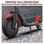 OurLeemeParafango-Posteriore-Anteriore-per-XIAOMI-M365-PRO-parafango-Posteriore-Anteriore-Rosso-Accessori-per-Parti-di-Ricambio-per-Scooter-durevoli-per-Xiaomi-M365-o-Scooter-elettrici-PRO