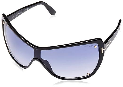 782bd1e02a6 Amazon.com  Tom Ford Ekaterina Sunglasses FT0363 01B