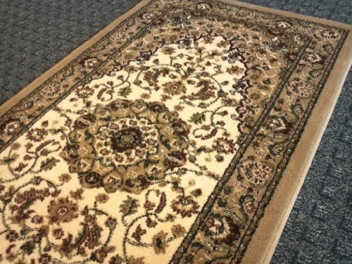 Traditional Area Rug Runner 32 In X 10 Ft Bellagio 401