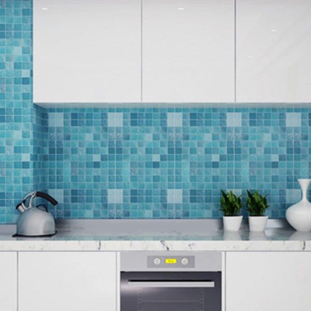 Amazon.com: Chinatera Peel and Stick Tile Kitchen Backsplash Sticker ...