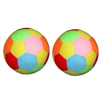 perfeclan 2 Unidades 17cm Colorido Balón de Fútbol Lleno de ...