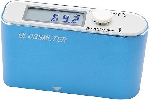 AMTAST Digital LCD Gloss Meter Paint Surface Gloss Meter Tester Paper Prints Surface Glossmeter Plastic Surface Glarimeter Measurement