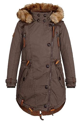 Naketano Female Jacket Grünwalds Herbstsonne Brownie, XS