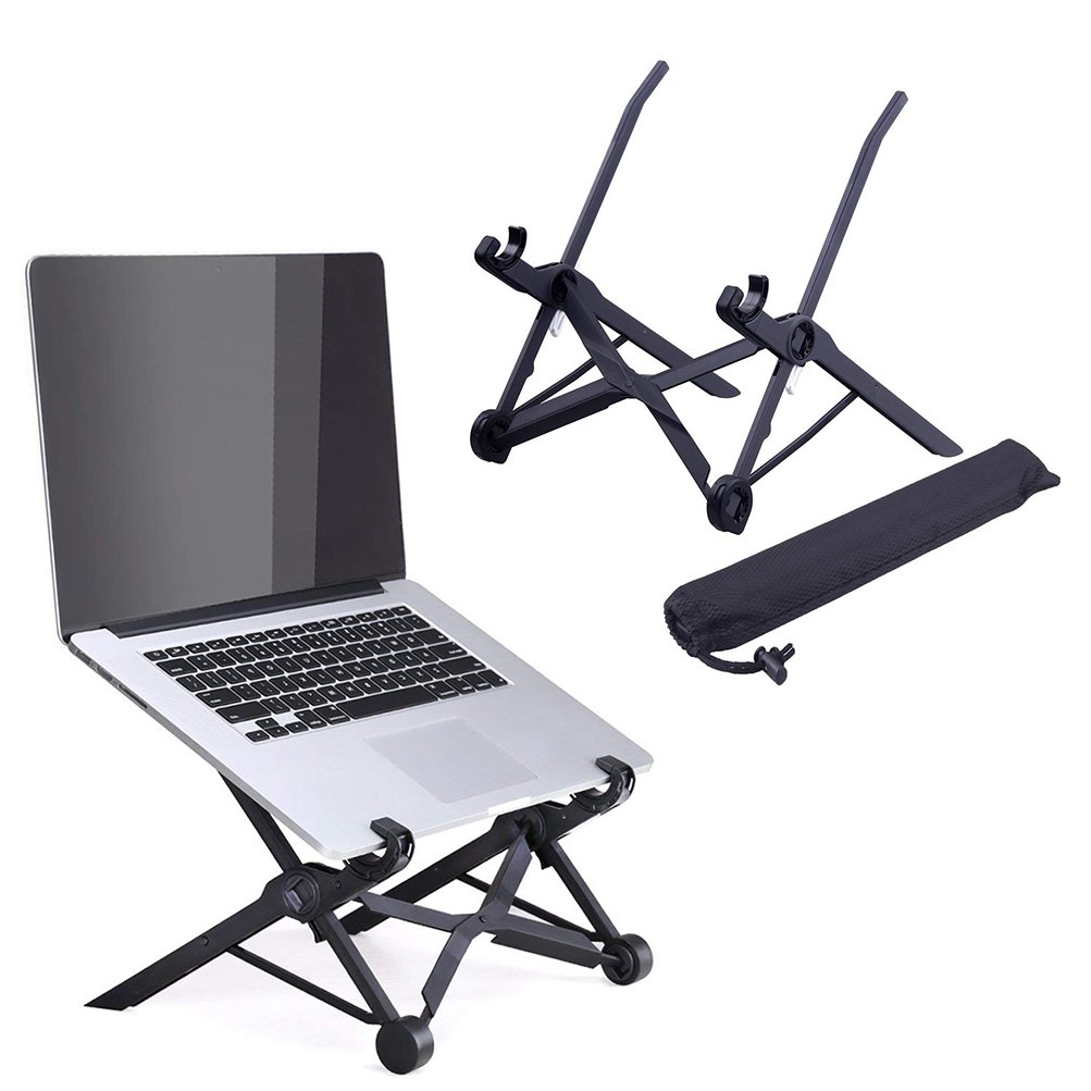 Laptop Stand Adjustable Portable - COOLEAD 3 Adjustable Height Mode Notebook PC Macbook Stand for Healthier Posture