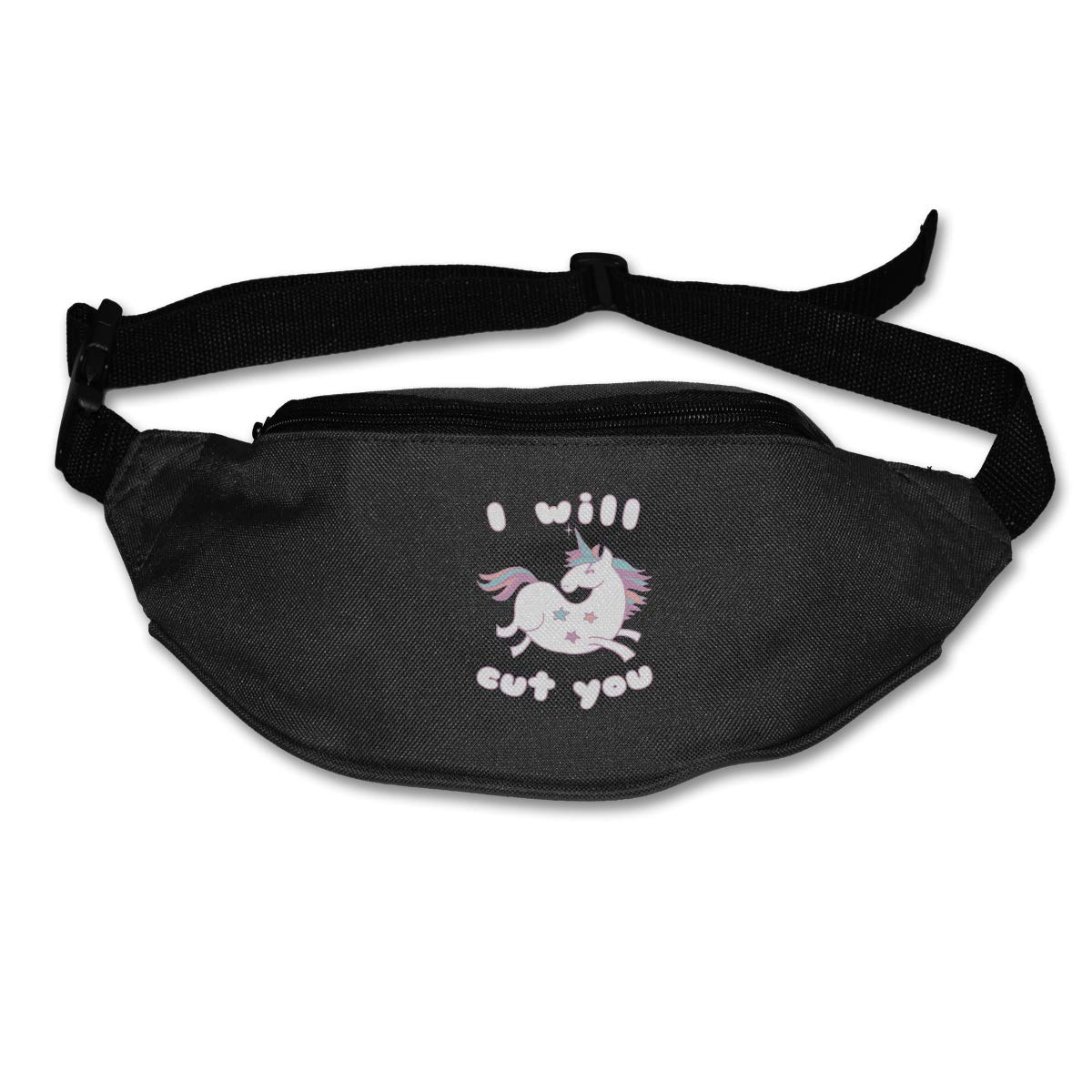 I Will Cut You Unicorn Sport Waist Packs Fanny Pack Adjustable For Hike