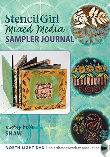 - Stencil Girl - Mixed Media Sampler Journal