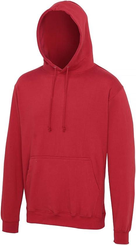 AWDis Hoods College Hoodie Brick Red Streetwear Hoodies