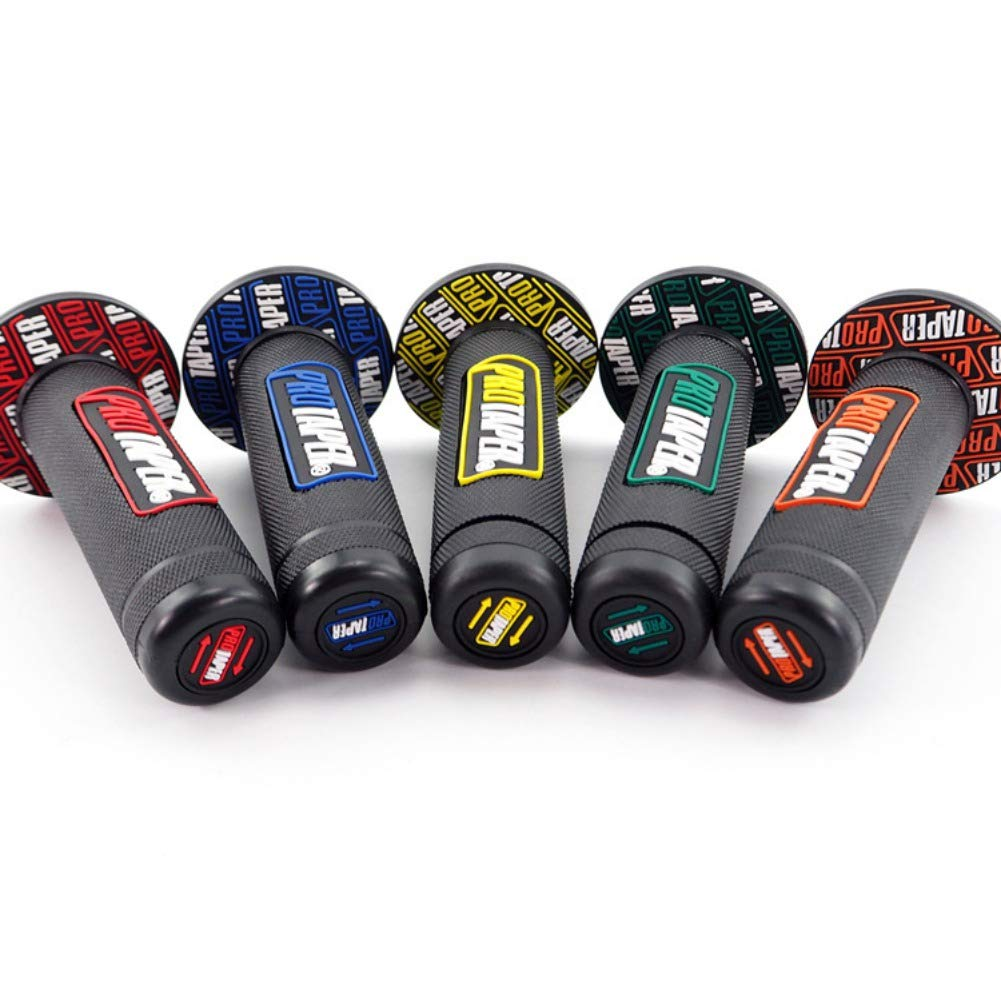 Nuova colla PRO per manubrio sinistra e destra Moto Pro Manopole coniche diritte con manubrio Tappo manubrio Tappo tappo Slider Barre standard Bebliss Accessori moto universali