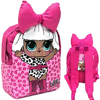 LOL Surprise BP-4982 - Mochila Infantil Niños Rosa Rosa Small