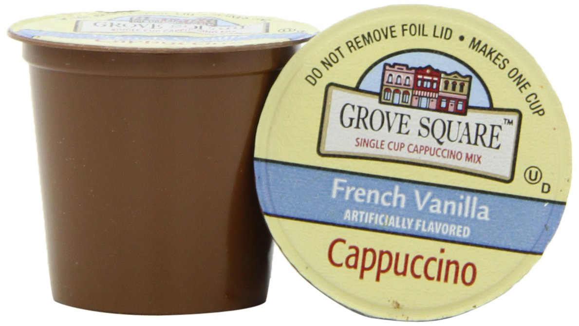 Grove Square French Vanilla Cappuccino 96 Cups