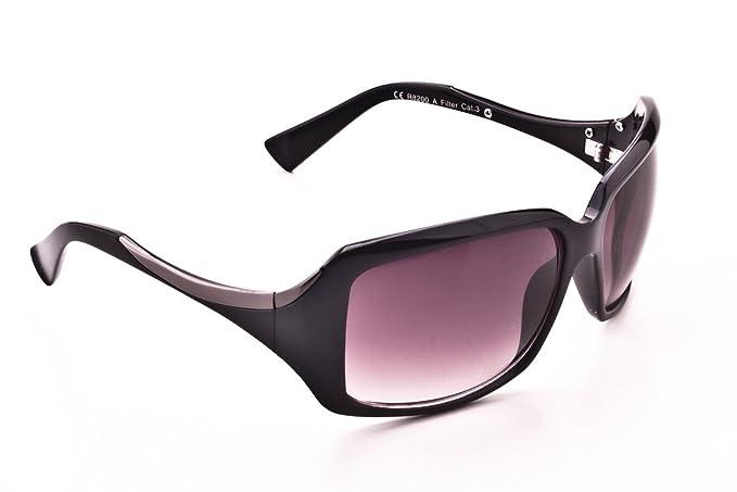 Revlon Sole AAmazon Sunglasses Da Nero Occhiali R8200 it FlK1JTc