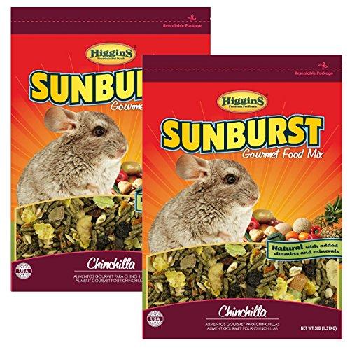 - Higgins Sunburst Gourmet Chinchilla Food Mix (6 Lb)