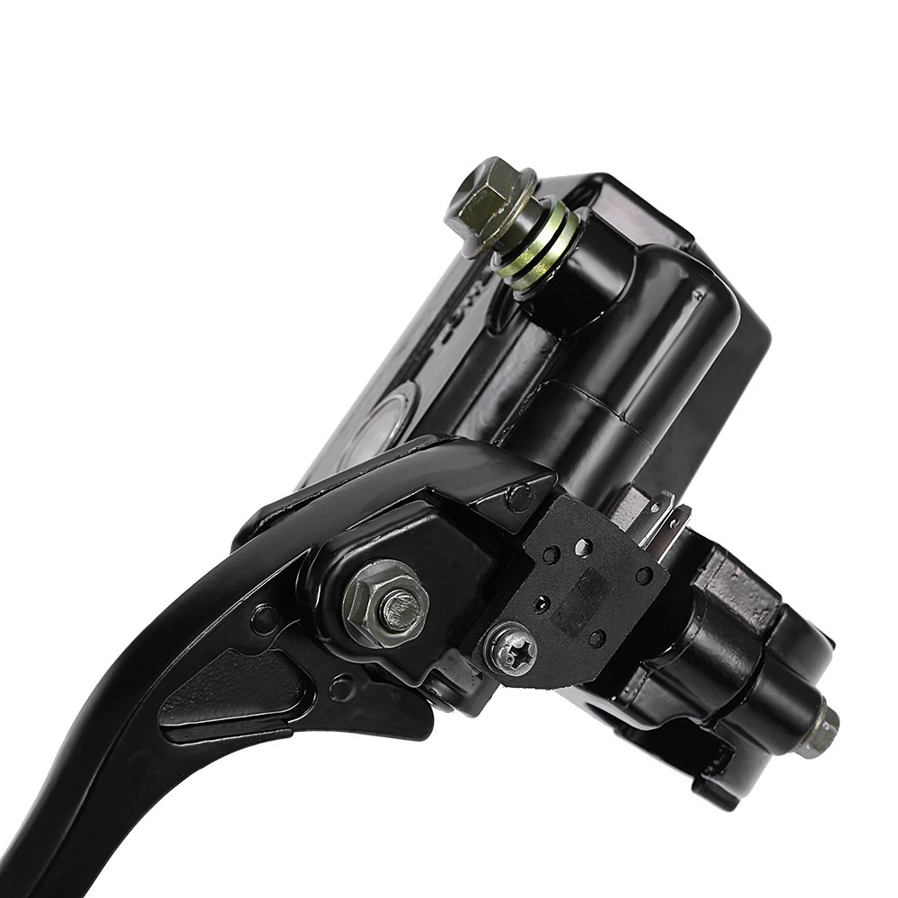 BLACK Brake Master Cylinder 7//8 Handlebar for Honda TRX TRX250 TRX300 350 400 450 Rincon Foreman Rancher