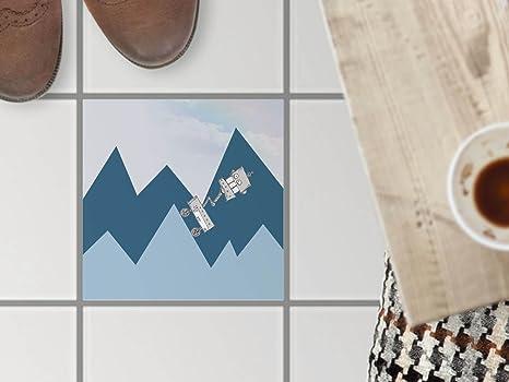 Stickers design piastrelle decorazione dŽinterni piastrelle