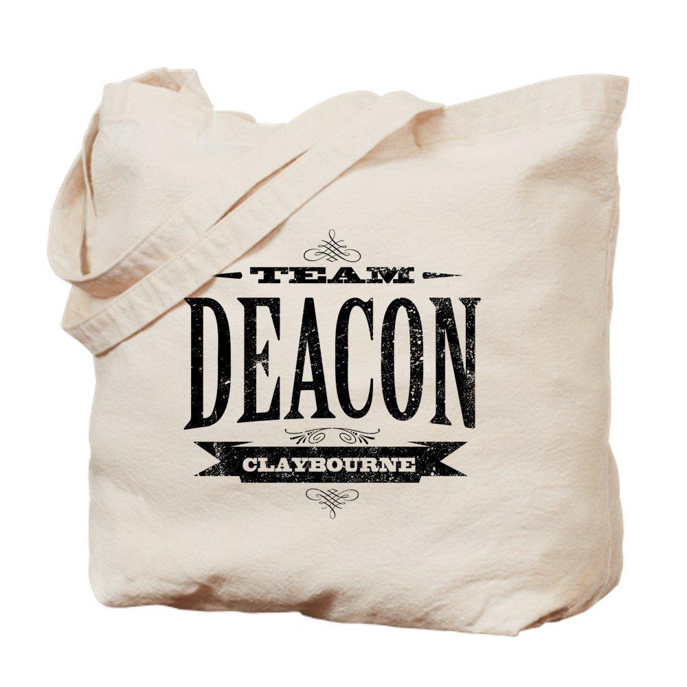 CafePress – チームDeacon Claybourne – ナチュラルキャンバストートバッグ、布ショッピングバッグ B01DWDF7MC