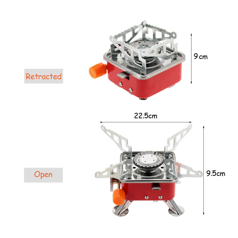 Amazing Ezyoutdoor Portable Gas Stove Camping Stove Folding Furnace 2800W Outdoor Stove Prestomall Outdoor Cooking Interior Design Ideas Clesiryabchikinfo