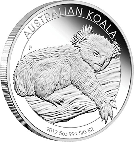 2012 AU Modern Commemorative PowerCoin AUSTRALIAN KOALA Silver Proof Coin 5 Oz 8$ Australia 2012 Proof