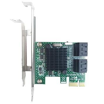 GLOTRENDS - Tarjeta Adaptador PCIe 2.0 a SATA III para ...