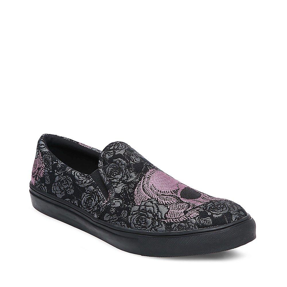 5f74350f71c Steve Madden Davis Men's Graphic Slip On Casual Loafer Shoes Black Size 8