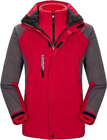 Fuwenni Womens Mountain Waterproof Raincoat Lightweight Windproof Rain Jacket