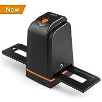 INTEY Film Scanner Dia und Negative Scanner mit 5 Megapixel-Film und hoher Auflösung USB 2.0 Scanner für Windows und Mac Systeme - Schwarz