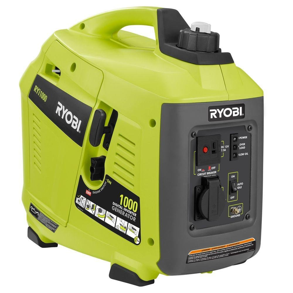 Ryobi Digital Inverter Generator 1000 Watt Ryi1000 Circuit Breaker Parts Garden Outdoor
