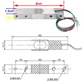 Digital Load Cell Weight Sensor 20kg Electronic