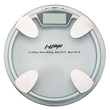 HPF 180kg Round Digital Bathroom Scales