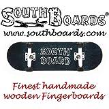Komplett Fingerskateboard SWZ/WS/SWZ SOUTHBOARDS® Handmade Wood Fingerboard Echtholz
