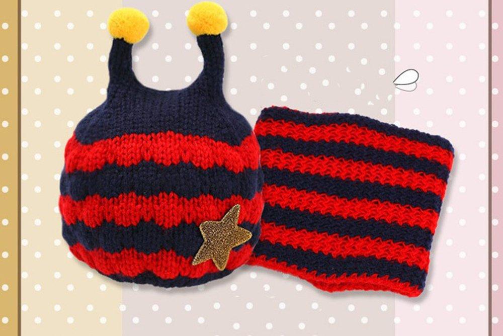f2e912ab264a SevenPanda Enfants Baby Animal Fox Casquette Manteau Tricot Capuche Cagoule  Hiver en laine tricotés chapeaux bébé ...