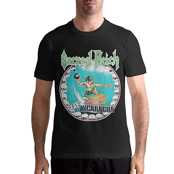 Amazon.com: Man Sacred Reich Particular T-Shirts Music Band ...