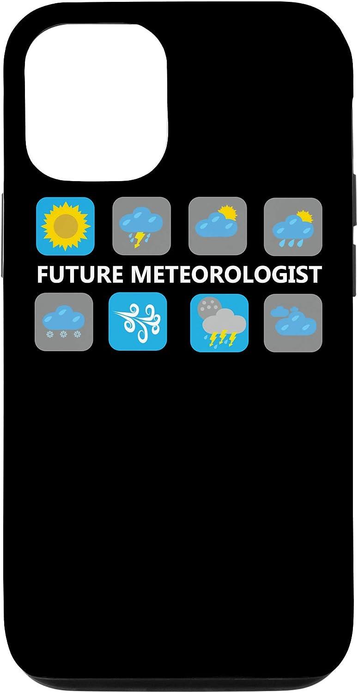 iPhone 12/12 Pro Weather Forecast Icons Future Meteorologist T-Shirt Case